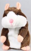 Vibola Adorable Interesting Speak Talking Record Hamsters Mouse Plush Kids Toys