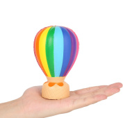 Aolige Jumbo Squishies Cute Hot Air Balloon Kawaii Cream Scented Very Squishies Slow Rising Decompression Squeeze Kids Simulation Party Toys