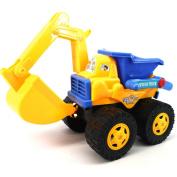 NACLLA Toddler Toys Bulldozer Car Dump Truck Excavator for Children
