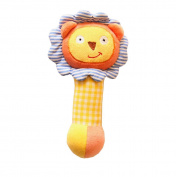 Infant Baby Kids Animal Soft Stuffed Plush Toy Rattle Lovely Lion