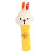 Infant Baby Kids Animal Soft Stuffed Plush Toy Rattle Cute Rabbit