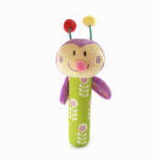 Cute Infant Baby Kids Animal Soft Stuffed Plush Toy Rattle insect