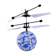 New RC Toy EpochAir RC Flying Ball, RC Drone Helicopter Ball Built-in Shinning LED Lighting for Kids Teenagers Colourful Flyings for Kids Toy,Nacome