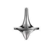 ForeverSpin Brushed Stainless Steel Spinning Top - Spinning Tops Built to Last and Spin Forever -The Perfect Balance between Performance and Beauty