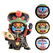 Chinese Sichuan characteristic Sichuan opera Facial makeup doll children toy