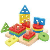 Children early education building blocks wooden toys