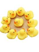 Baby Toy Makalon NEW One Dozen (12) Rubber Duck Ducky Duckie Baby Shower Birthday Party Favours