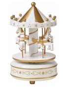 merry-go-round,Windup 4-horse Carousel Music Box Toy, Valentine's Day gift,Children Birthday Christmas Gift,Wooden Merry Go Round Carousel,Schoolsupplies,lovers gift