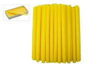 0.5kg Bulk Box of Yellow Sprue Wax 9.0 mm Jewellery Pattern Making Investment Wax