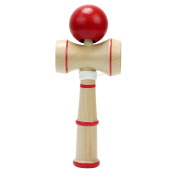 sea-junop Kid Kendama Ball Japanese Traditional Wood Game Hand-eye Balance Skill Toy