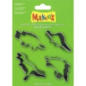 Makin's Clay Cutters 4/Pkg-Dinosaurs
