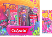 Officiai Dreamworks Trolls Colgate Travel Hygiene Gift Kit With Official Trolls Keychain