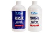 TriOral 12-hour Fresh Breath Advanced Clinical Formula 2-bottle Rinse System, Mint