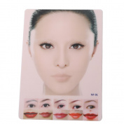 Yimart Professional Makeup Lip & Eyebrow Practise Skins Cosmetic Permanent Fake Tattoo Practise Skin Supply