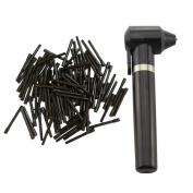 Tattoo Pigment Makeup Electric Ink Mixer Eyebrow Colour Supply Tool Agitator Machine 100 Mixing Sticks Set