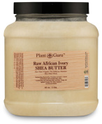 African Shea Butter Raw Unrefined 100% Pure Natural Organic Ivory Grade A - 1.4kg - DIY Body Butters, Lotion, Cream, lip Balm & Soap Making Supplies, Eczema & Psoriasis Aid, Stretch Mark Product