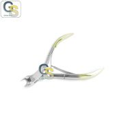 G.S PROFESSIONAL GOLD HANDLE CUTICLE NAIL CUTTER NAIL CLIPPERS NAIL NIPPERS