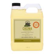 CUCINA Fruits & Passion Hand Soap - Olive Oil Green Tea, 1000ml/1L - Refill