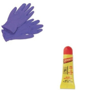 KITKIM55082LIL11313 - Value Kit - LIL DRUGSTORE PRODUCTS Moisturising Lip Balm (LIL11313) and KIMBERLY CLARK PURPLE NITRILE Exam Gloves