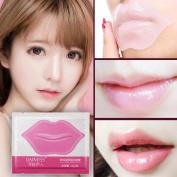Coerni 10 Pcs Professional Crystal Lip Care Mask Anti-Ageing Lip Film Moisturising Exfoliating Lips Care Beauty Essentials .