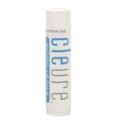 Cleure Lip Balm - Natural Moisturising With Organic Shea Butter, Flavour-Free, Hypoallergenic