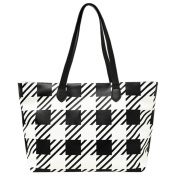 Women Handbag, Hunzed Lattice Crossbody Shoulder Bag Casual Handbag Big Tote Ladies Purse