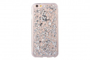 Moonmini iPhone 6 Plus / iPhone 6s Plus Case Luxury Bling Glitter Slim fit Flexible Soft TPU Gel Shockproof Protective Cover for iPhone 6 Plus / iPhone 6s Plus 14cm