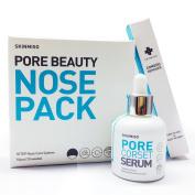 [SKINMISO-KOREA] SET - Pore Beauty Nose Pack Blackhead Care 3 Step System (10 Weeks Programme) + Comedo Remover Tool + Pore Minimising Corset Serum 30ml