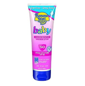 Banana Boat Baby Sunscreen Lotion SPF 50, 300ml + FREE Travel Toothbrush, Colour May Vary