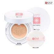 [SNP] UV Perfect Tone-up Sun Cushion SPF50+ PA++++ 12g - Natural Skin Tone-up Sunblock Cushion