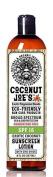 Zinc Oxide Sunscreen from Coconut Joe's | Natural & Organic Sunscreen Lotion, Mineral Sunscreen, SPF 15, Natural Sunscreen, Exotic Coconut, 240ml bottle