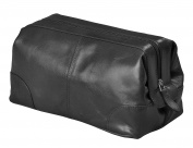 Mens Toiletry Bag Dopp Kit by Bayfeild Bags- Shave Kit Bag Keeps Toiletries Organised For Travel (10x5x5)
