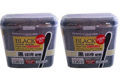 2 X Daiso Japan Black Cotton Swab 220pcs