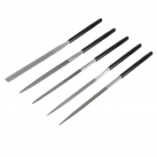 StewMac Needle Files, Set of 5