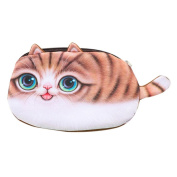 GBSELL Student Cat Pen Box Pencil Case Cosmetic Bags Travel Makeup Bag