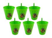 6-Pack Teenage Mutant Ninja Turtles Reusable 380ml Sipper Tumbler Cups, BPA-Free