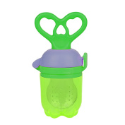 Silicone Feeding Pacifier Baby Fresh Food Fruits Feeder Nipple Grass green