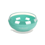 Ancaixin Green Baby Bowls with Sucker Solid Feeding for Kids Toddler Ages 1-3 Stackable BPA Free