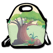 Tydo Lunch Bags Big Tree Tote Bags Picnic Bags Fast Food Packaging For Teen Adult Kids Children