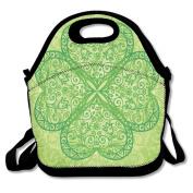 Shamrock Leaf Extra Large Insulated Lunch Box Food Bag