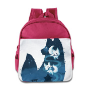 Baby Toddler Printed Cats Kid Backpack Cute For School