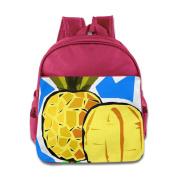 Baby Toddler Printed PineApple Kid Backpack Cute For School