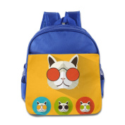 Baby Toddler Printed Cool Cat Kid Backpack Cute For School