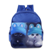 Baby Toddler Printed Magic Cats Kid Backpack Cute For School