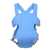 Baby Newborn Toddler Adjustable Breathable Carrier Wrap Sling Backpack Gift Sky Blue