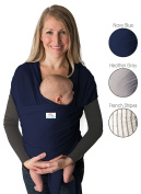 Baby Wrap Carrier (Navy Blue)