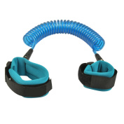 Child Anti-Lost Wrist Link Safety Walking Hand Belt Strap for Toddlers and Kids Rope/Leash/Harness (Blue