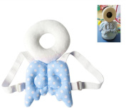 Toddler Headrest Pillow,Baby Head Protector,EDCMaker Baby Ajustable Head Shoulder Safety Pad