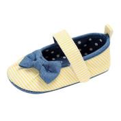 SMYTShop Prewalker Infant Sweet Canvas Sneaker Anti-skid Soft Shoes Crib Shoes 0-18 Months