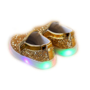 Besde Baby Shoes LED Luminous Child Sneakers Toddler Colourful Light Shoes